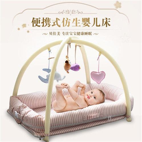 Portable Baby Crib Nursery Travelling Baby Bed Crib Infant