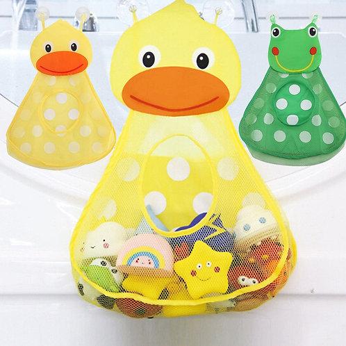 Baby Shower Bath Toys Little Duck Little Frog Baby Kids Toy Storage Mesh