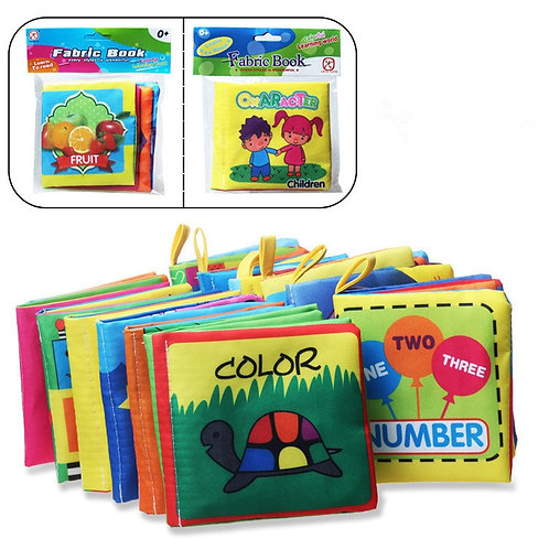 Baby Toys Soft Cloth Books Baby Intelligence Development Infant