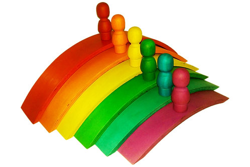 QToys Australia (USA) RAINBOW ARCH SET