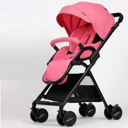 Baby Stroller Lightweight Portable Travel System Can Be on the Airplane Prams