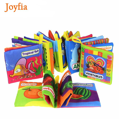 Cloth Baby Book Intelligence Development Educational Toy Soft Cloth Learning