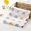 Thumbnail: 1pc Muslin 100% Cotton Newborn Swaddles Soft  Baby Boy Girls Blankets Bath Gauze