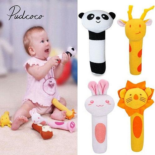 2019 Baby Classic Toys Animal Handbells Developmental Toys Bed Bells Kids