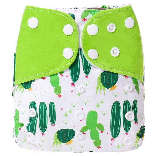 [Simfamily]1PC 2019 New Reusable Waterproof Digital Printed Baby Cloth Diaper