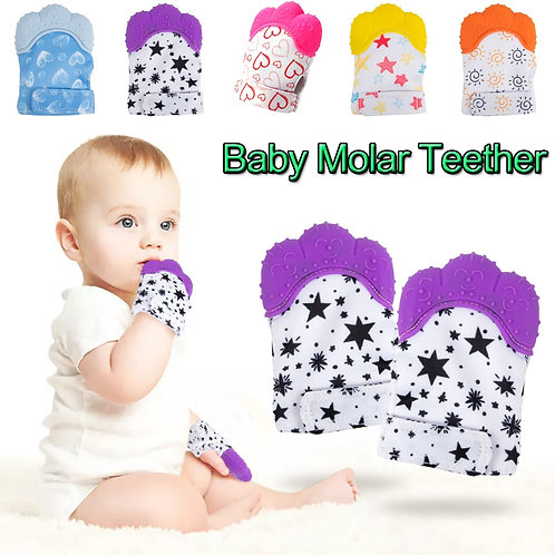 Baby Molar Gloves Anti-Bite Toddler Toy Baby Teether Silicone Teethers Infant