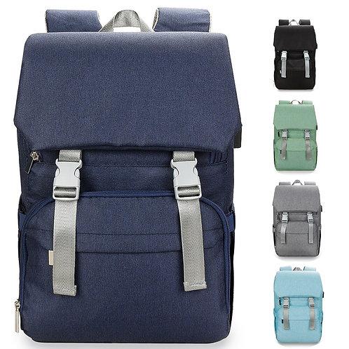 Mummy Waterproof USB Baby Diaper Bag Backpack Bags Organizer