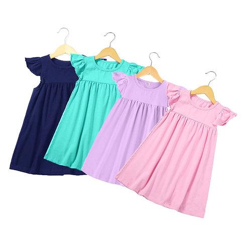 2020 Boutique Multiple Color Spring Summer Smock Baby Little Girls Kids