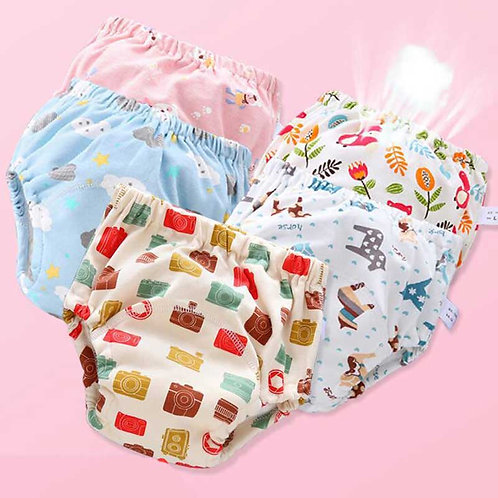 Baby Reusable Cloth Diaper Ecological Potty Training Pants Diapers for Children