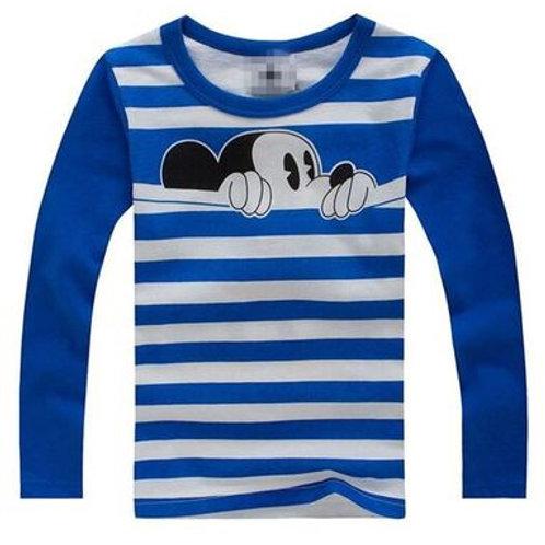 Boys T Shirt Girl Tshirt Children Clothes Toddler T-Shirt Kid Long Sleeve Tops