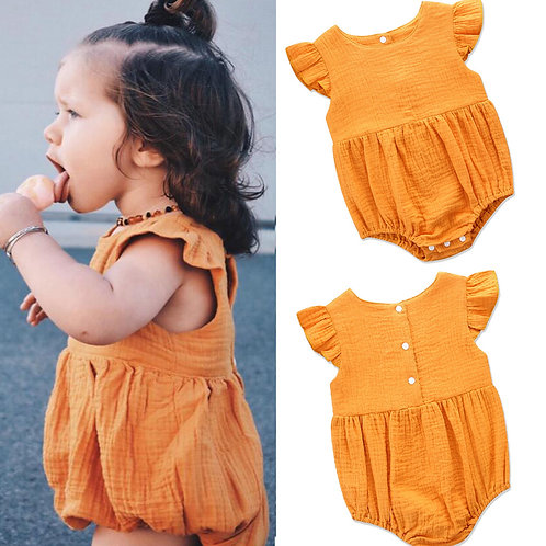 Peridemes Costumes for Newborn Girl Romper Bodysuits for Kids Cotton Flutter