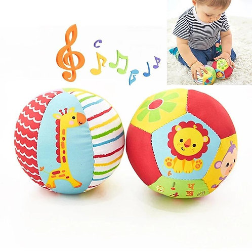 Animal cognition ball baby hand catch ball rattle ball