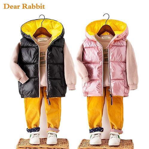 2020 Child Waistcoat Children Outerwear Spring Autumn Winter Coats Kids Clothes