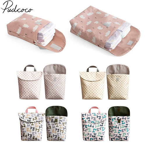 2019 Diapering Toilet Training Packages Mini Waterproof Wet Dry Bag for Baby