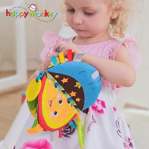 Pudcoco Baby Cloth Book Children Kids Educational Toys Soft Fabric Cartoon
