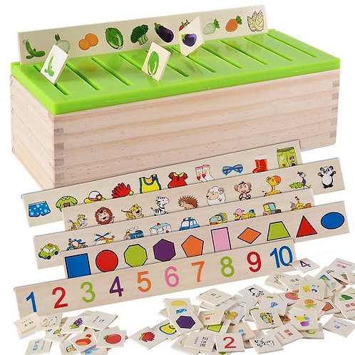 Early childhood education intellectual toy (Wood)