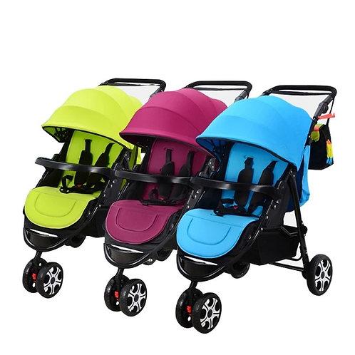 LIght Triple Stroller Twins Strollers Detachable Twin Triplets Multiple Folding