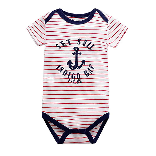 Babies Boys Clothing Bodysuit Newborn Baby Girls Short Sleeve Body