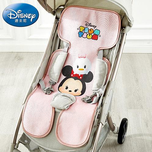 Original Disney Cart Breathable Universal Stroller Mat Newborn Silk Ice Baby