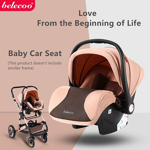 Belecoo Baby Car Safety Seat Infant Baby Cradle Car Seat  Multifunctional