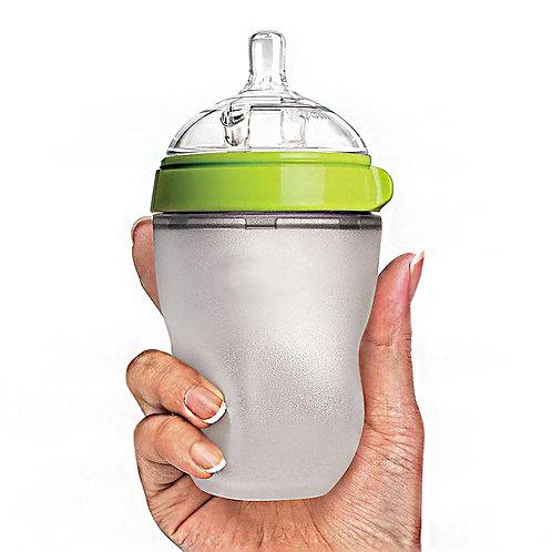 Silicone Baby Bottle Baby Milk Silicone Feeding Bottle Kids Drink Water