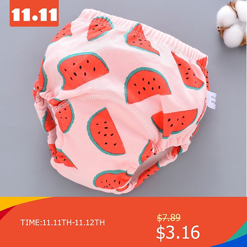 Baby Training Pants Cloth Diapers Washable6 Layers Gauze Cover Breathable Spring