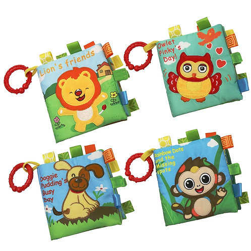1 Pcs Baby Story Book Soft Cloth Book Educational Toy Baby Mobiles Cot Mobile