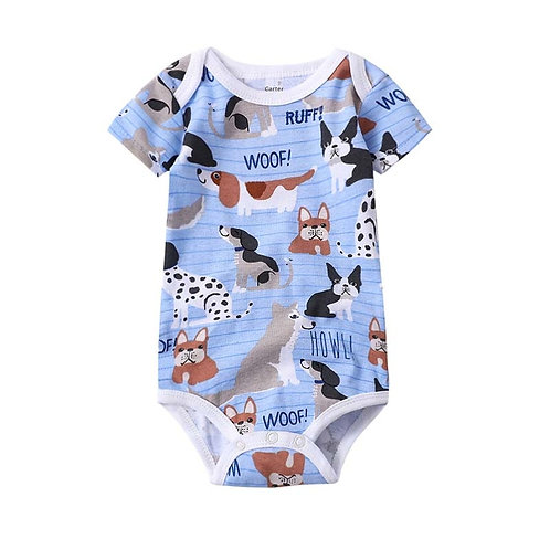 Babies Boys Clothing Bodysuit Newborn Baby Girls Short Sleeve Body