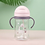 Thumbnail: 350ml Baby Feeding Cup With Straw Children Learn Feeding Drinking Bottle Kids
