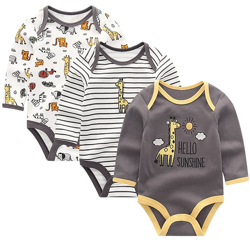 Baby Clothing 2020 Winter Newborn Jumpsuits Baby Boy Girl Romper Long Sleeve
