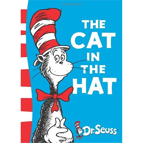 The CAT IN THE HAT by Dr Seuss Cchildren Books Baby Learning