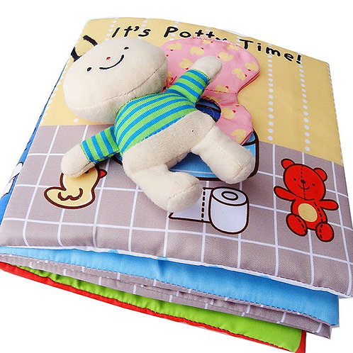 Baby Book Soft Cloth Books Toddler Newborn Early Learning Develop Cognize