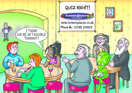 Quiz Night - Friday 1st February