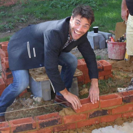 Engraved Brick Laying and Bykathon Events raise over £1500 towards new Pavilion