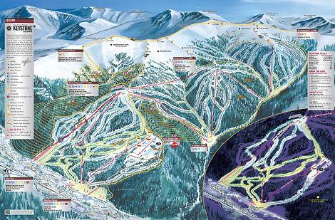 Colorado Keystone ski trip