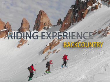 RIDING EXPERIENCES BACKCOUNTRY RECUADRO.