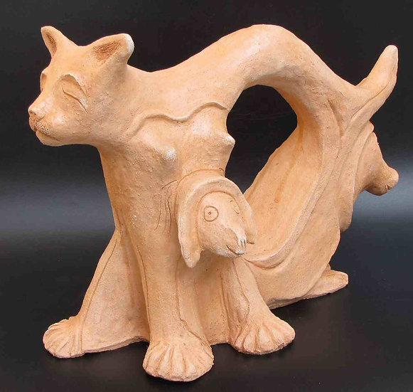 tail to bulls-head to cats - ראש לחתולים-זנב לשוורים