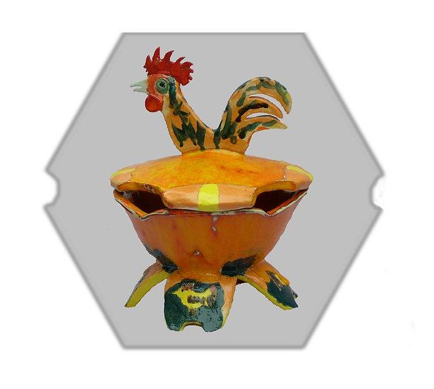 Rooster Bowl - קערת מרק עוף