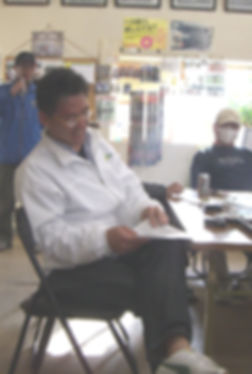 2008年4月例会。発会時以来の優勝in富里