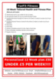 Nutritional plan Forfit Fitness