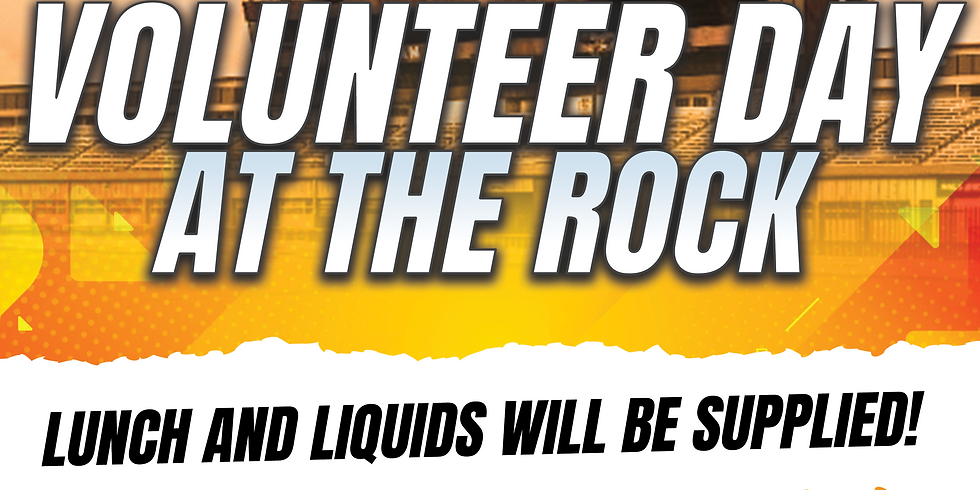 Volunteer day at the rock