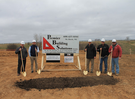 Premier Building Solutions Breaks Ground on Second Tenant Facility.