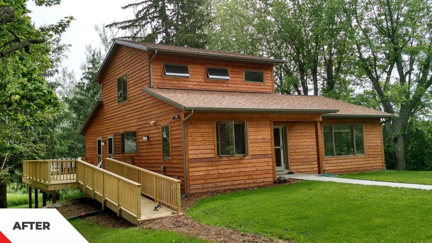 New Home,Mt Vernon  WI