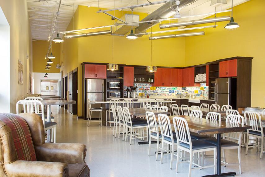 Duluth Trading Co. Call Center Breakroom, Belleville WI