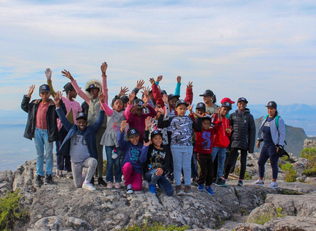 Youth Day: Tractor treats Brightstart kids to a day out on Table Mountain
