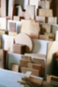 peças de madeira