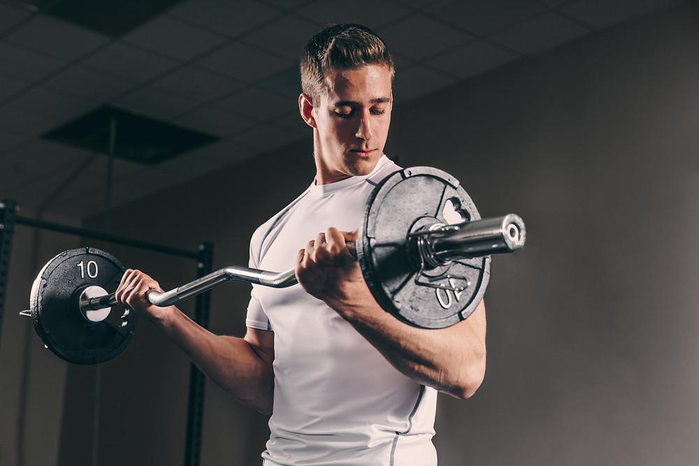 homme biceps