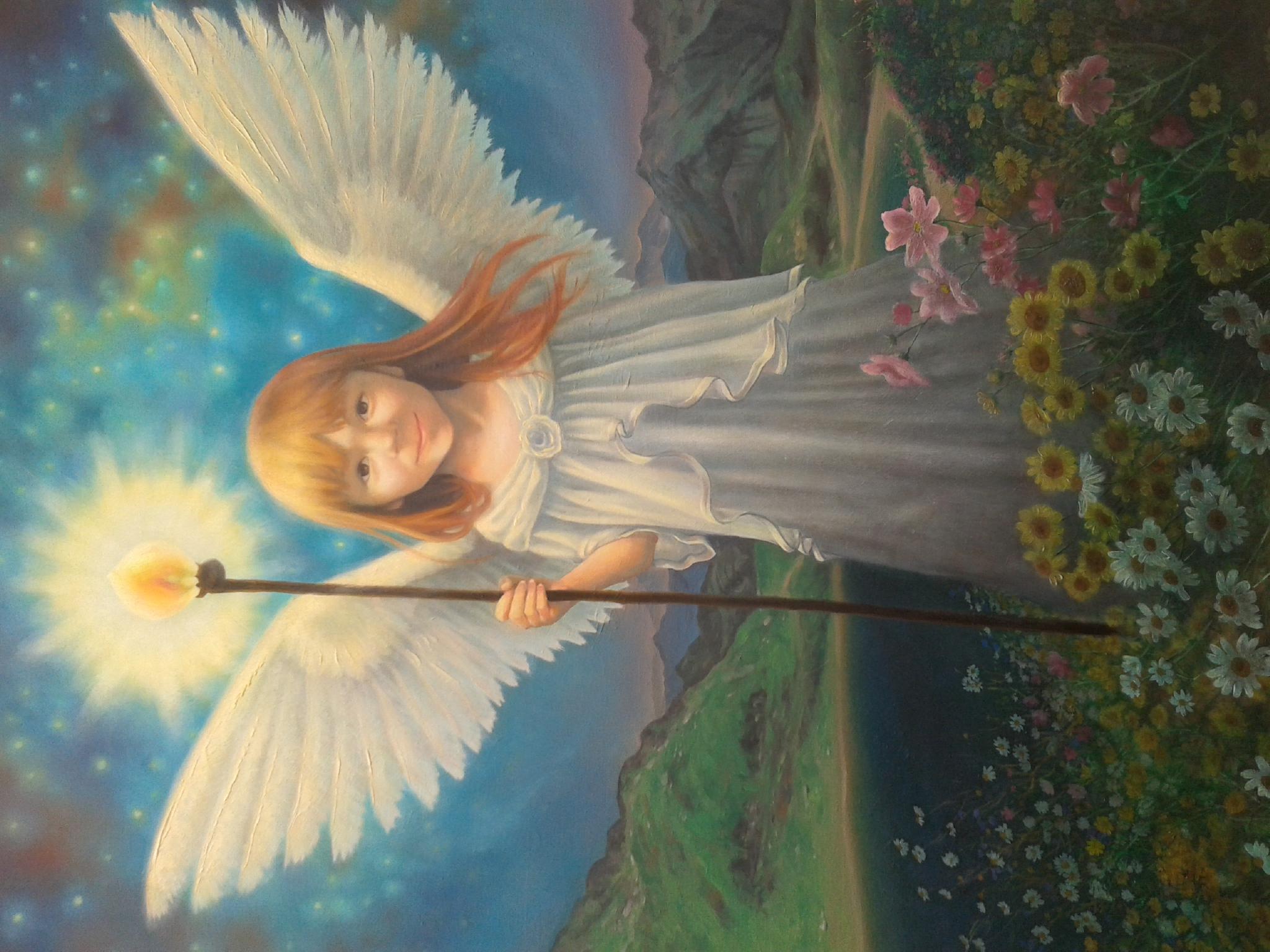 L'ange de lumière