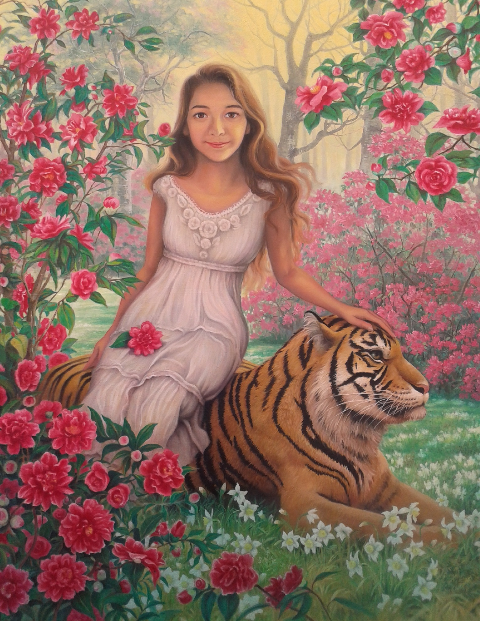 La jeune fille et le tigre