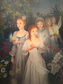 Les 5 vierges sages